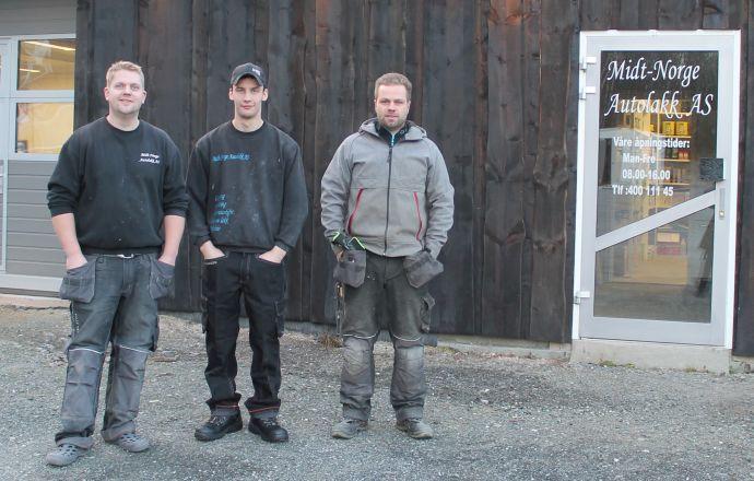 Romund Bakken, Lars Martin Kvam og Bård Bakken.jpg