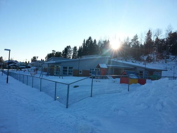 Finlandsskogen vinterbilde 3