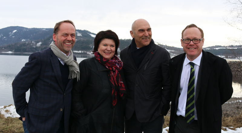 Leif Atle Viken, Anita Ihle Steen, Arthur Buchardt og Jørn Strand.