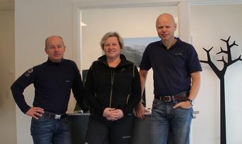 Lars Olav Lund Hege Sæther Moen og Ola Eirik Bolme