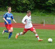 Jarl Oskar Mykkelgård satte inn 0-1 på nydelig vis.