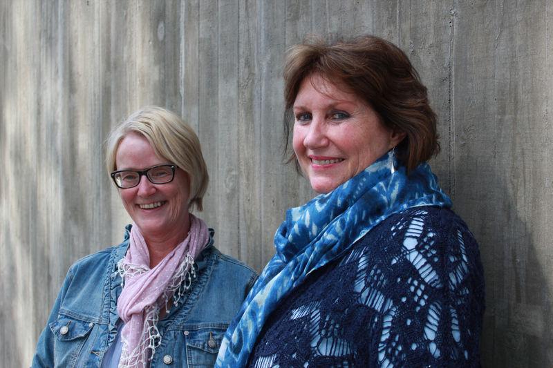 Ane Wenche Moen og Marit Sjørengen ved demensenheten i Ringsaker kommune