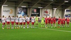 Fotballkamp mellom Rindal G19 og et forsterket Rindal G16