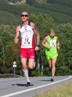 Lars Kristian Rodal, Rindal Il foran Tor Håkon Skogstad fra Lundamo IL.