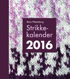 Bitta Mikkelborg: Strikkekalender 2016