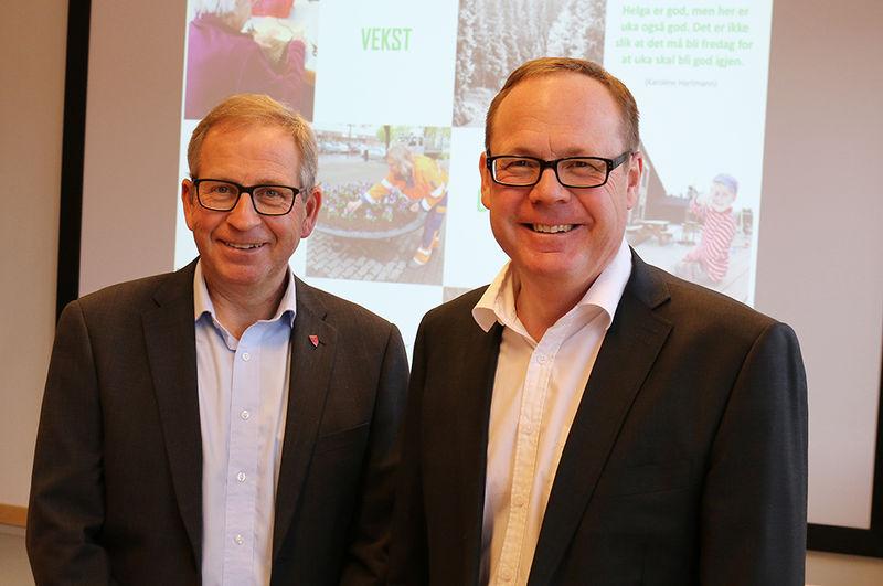 Espen Hvalby og Jørn Strand.