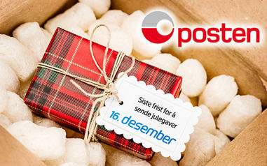 Postens frist for pakker til jul er 16. desember