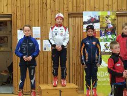 Mikkel Bakken vant klasse G11 og var en av Rindal ILs tre på pallen.