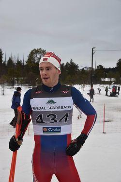 Nils Magnus Bøen Grave, IL Korlevoll-Odda/Team Veidekke Vest, nr 1 i Menn Senior