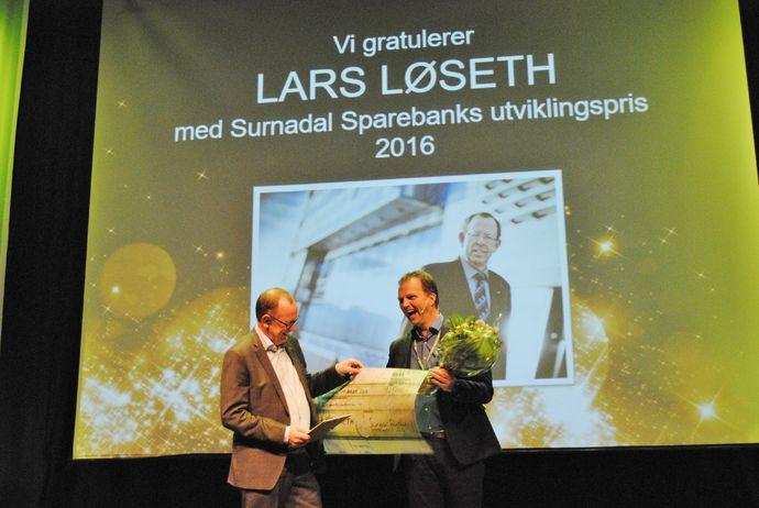 Lars Løseth utviklingsprisen 2016