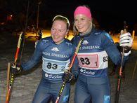 Byåsen IL ved Julie Myhre (gull på stafetten i juniorVM i fjor) og Anne Marte Brenden vant juniorklassen for kvinner.