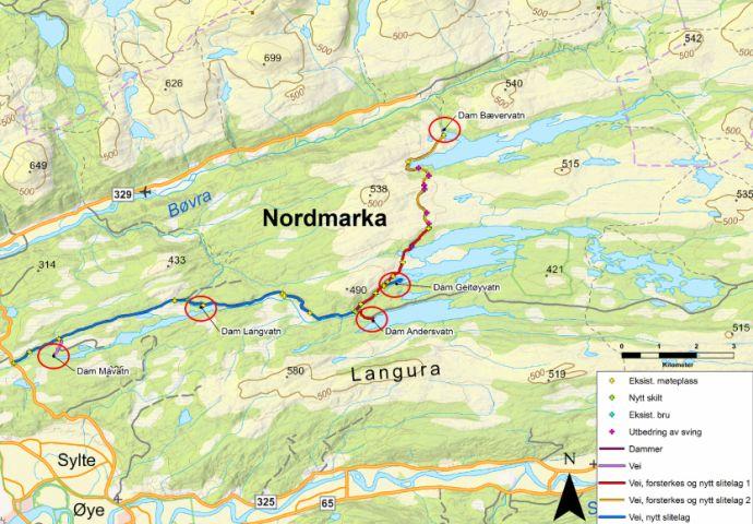 kart nordmarka sommer Varsler stor aktivitet på Nordmarka   Trollheimsporten kart nordmarka sommer