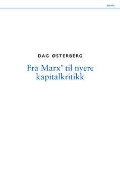 Dag Østerberg: Fra Marx