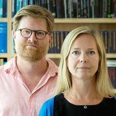 Halvor Haugen og Nina Schjønsby. Foto: Kristin Aafløy Opdan