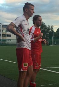 Gamle lagkamerater: Roy sine 2 scoringer holdt ikke mot Kim Kiellands Kolstad denne gangen