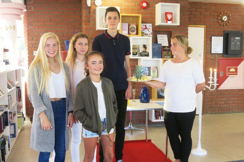 Unge filmskapere i Ringsaker på biblioteket