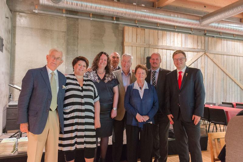 Politikere på Prøysenhuset