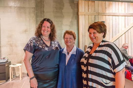 Sylvia Brustad, Gro Harlem Brundtland og Anita Ihle Steen