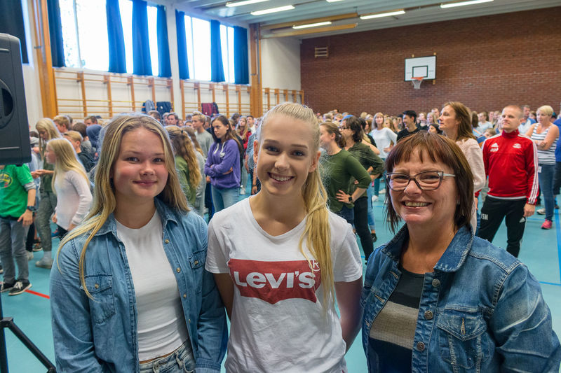Mina Bø, Ingeborg Flatebø Syversen og Kari Benum