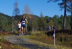 Et felt med blant andre startnr 120 Solomon Achame, Namdal Løpeklubb (MV 35-39) og startnr 115 Kristian Tjørnholm, Kristiansand Løpeklubb (menn senior)