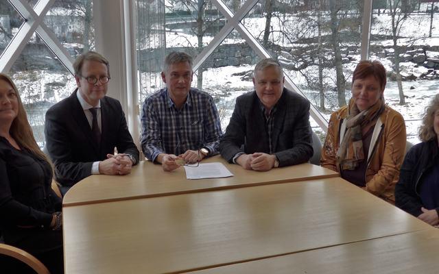 Partnarskap psykisk helse signering 11.11.2016