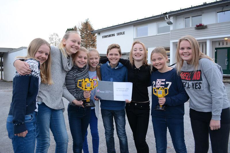 Sjettetrinnselever fra Stavsberg skole