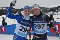 De to beste seniorene i dameklassen, Guro Bostad, Strindheim (tv) nr 2 og Renate Bergset Tjetland, Gjesdal nr 1.