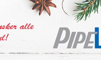Pipelife julehilsen red