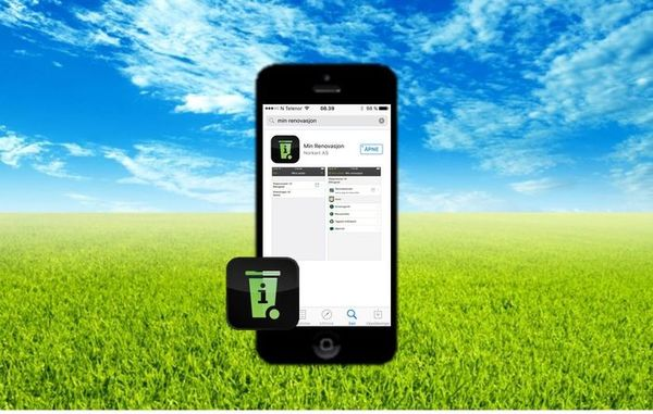 Min renovasjon app