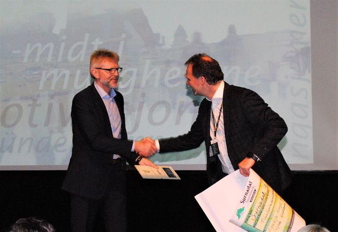 Kjell Larsen og Allan Troelsen utviklingspris 2017