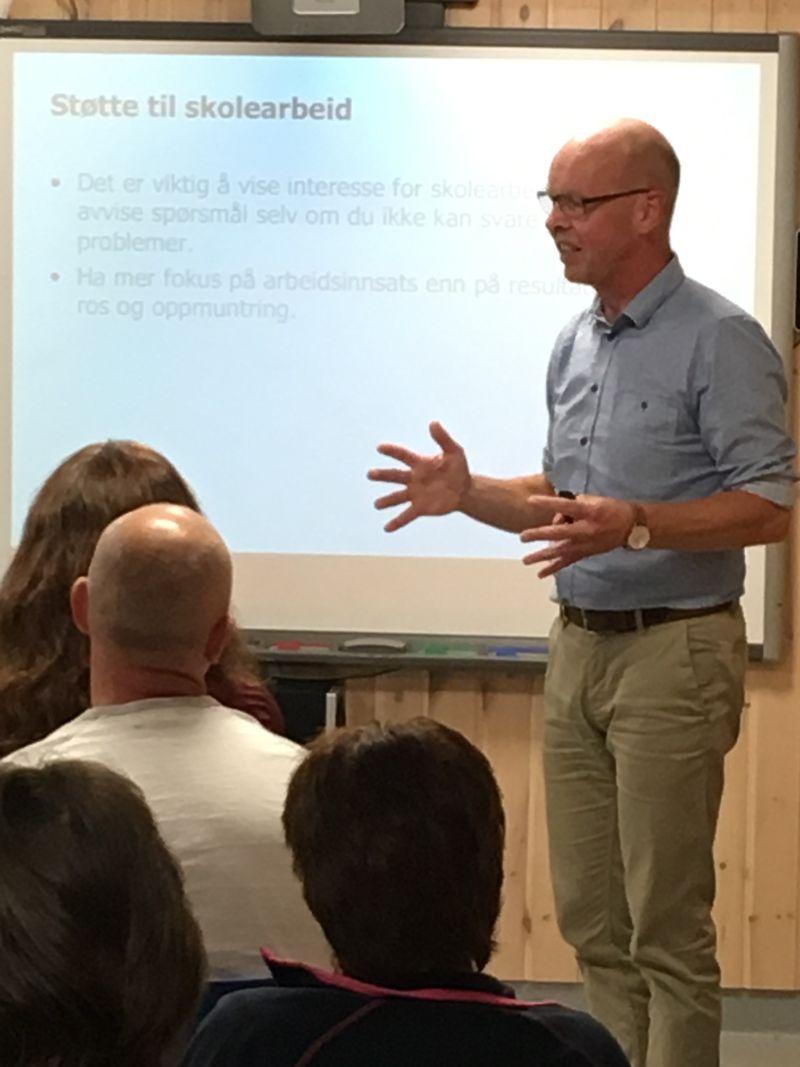 Thomas Nordahl forelesning