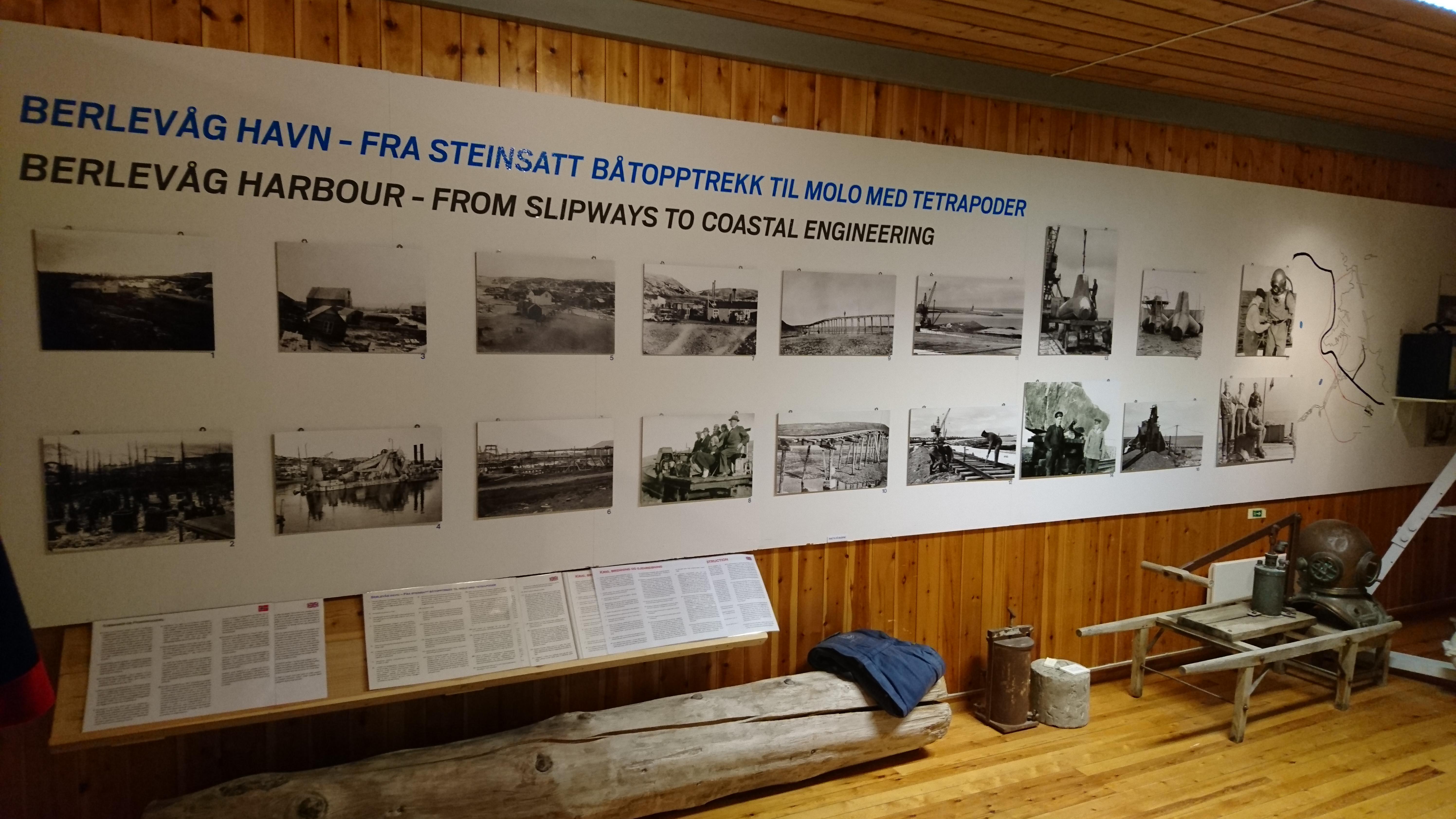 Utstilling Berlevåg Havn