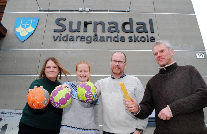 Mari Vattøy, Ingvild Berg, Mons Otnes og Johan Almås