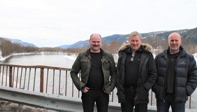 Terje Børset, Georg Solem og Arne O