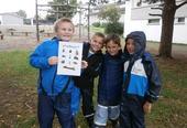 Barn som er med på tur-bingo