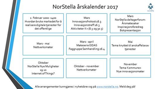 Norstella Årskalender