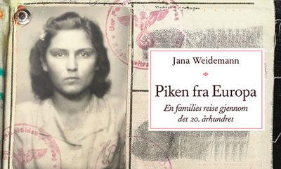 Lansering: Piken fra Europa. En families reise gjennom det 20. århundret