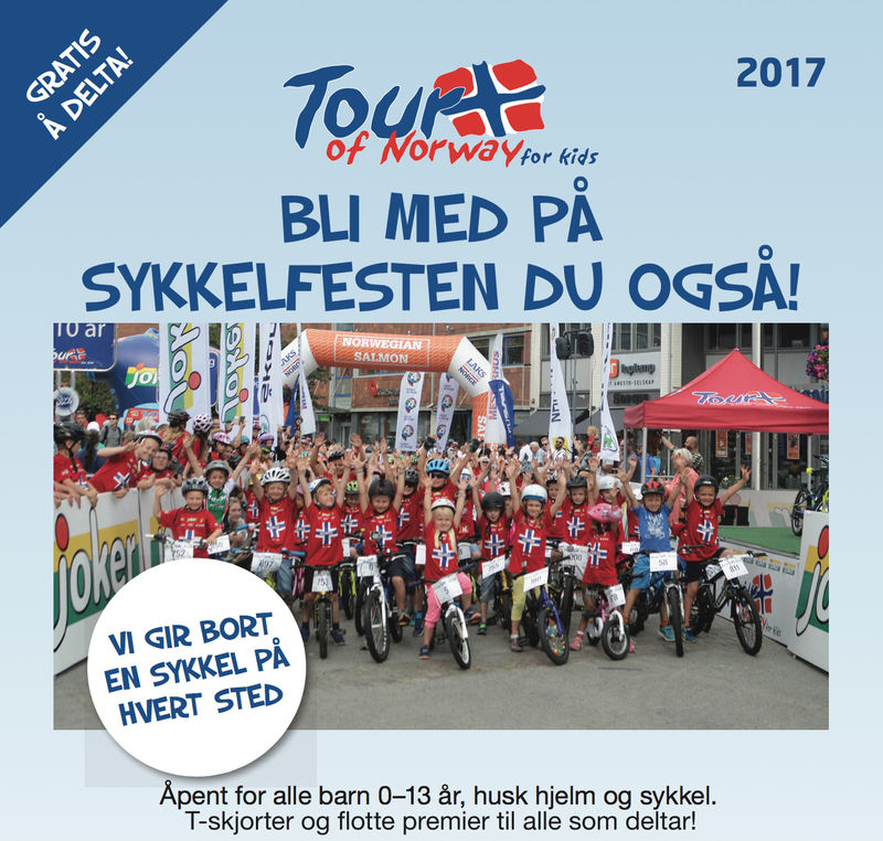 Plakat Tour of Norway for Kids