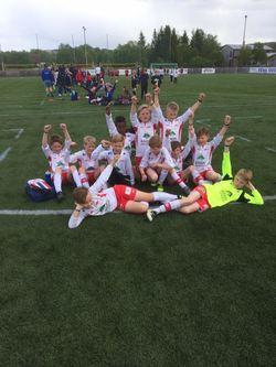 Siste kampen for G-12 i Bergstadcupen endte med en solid 7-0 seier over Malvik