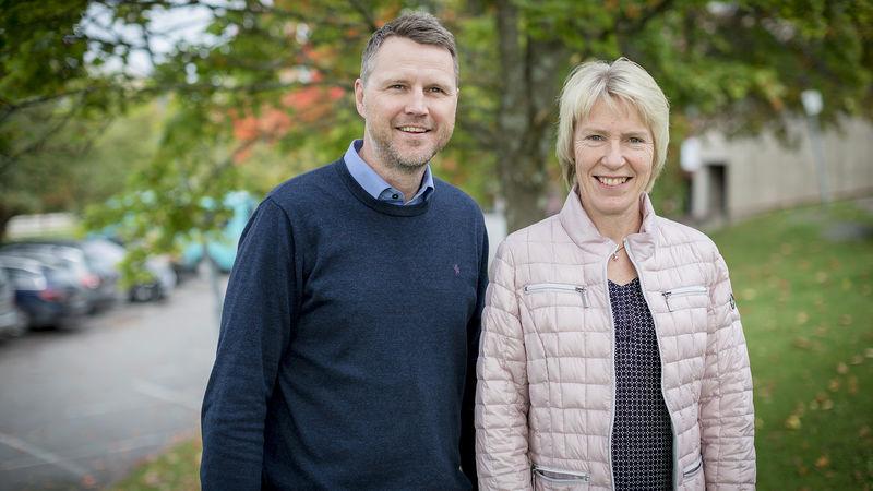 Jan Robin Manstad og Marit A. Amb