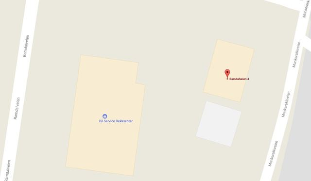 Googlemap kartutsnitt