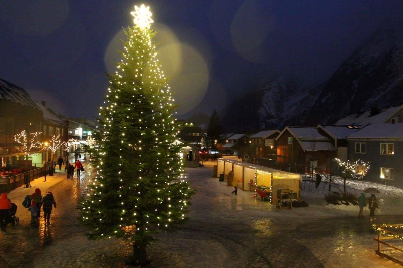 Jul på Torget (foto: Gunnar Nygaard)