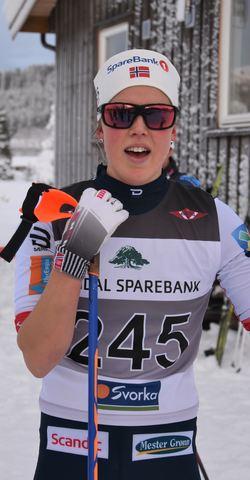 Kari Øyre Slind tok seieren i dameklassen