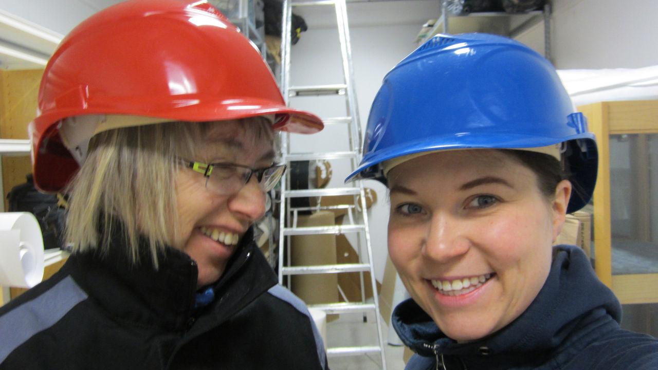 Tove Johansen og Daniela Kötter