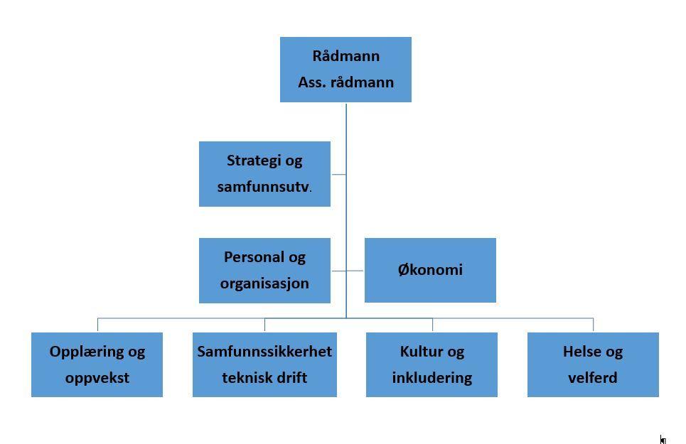 bilde av organisasjonskartet