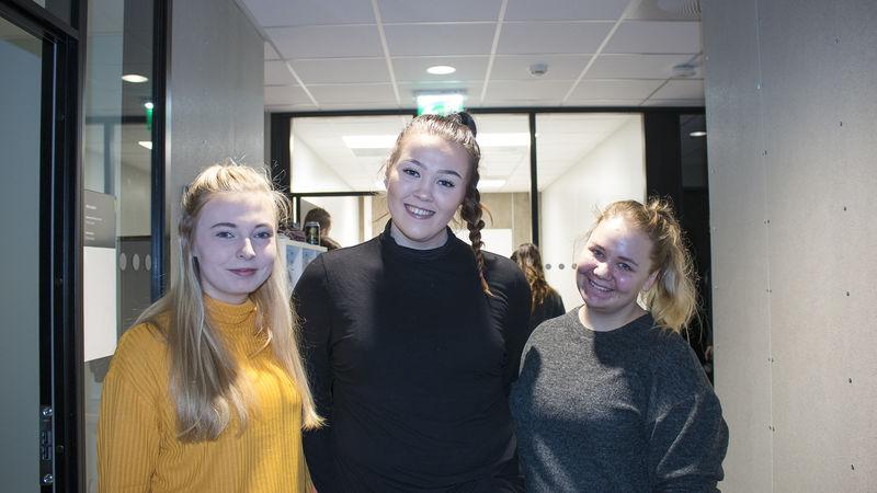 Elever ved Ringsaker videregående skole