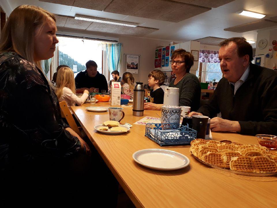 Servering i Jøa barnehage