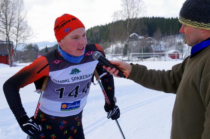 IMGP3007 Speaker Jon Brønstad intervjuer Ola Jordheim fra Hemsedal.JPG
