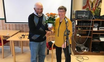 Johnny Kristensen og Helene Nergård