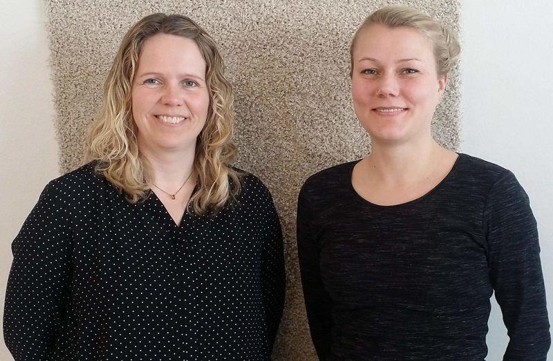 bilde av Monica Hasli og Heidi Brennodden